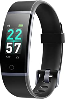 Letsfit Fitness Tracker, Activity Tracker Watch with Heart Rate Monitor, IP68 Waterproof Smart Watch with Step Counter, Ca...