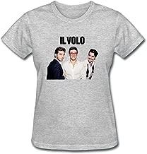 SLJD Women's Il Volo Poster Design Short Sleeve T Shirt