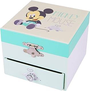 TROUSSELIER - DISNEY - Mickey - Boîte à Trésors & Bijoux Musicale - Idéal Cadeau Enfant - Musique Beau Danube Bleu de Moza...