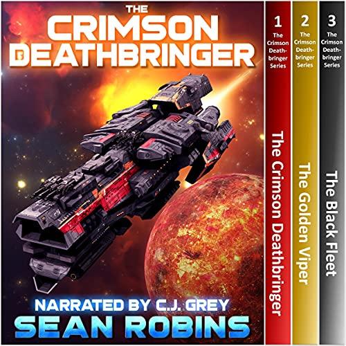 The Crimson Deathbringer Series Box Set (Books 1-3) Audiobook By Sean Robins cover art