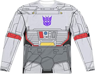 Transformers Megatron Costume Unisex Adult Long-Sleeve Sublimated T Shirt for Men and Women