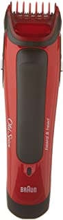 Old Spice Beard & Head Trimmer, powered by Braun, Red/Black