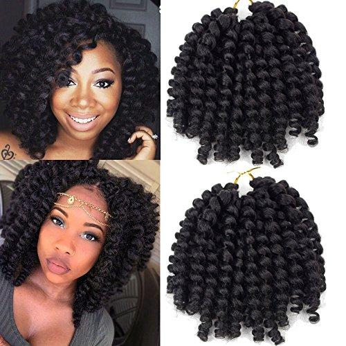 Crochet Braids Hair No Tangle 2X Ringlet Jumbo...