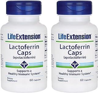 Life Extension Lactoferrin (apolactoferrin) 60 Caps - TwinPak