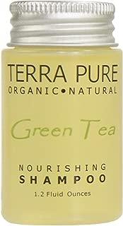 Terra Pure Green Tea Shampoo, 1.2 oz. In Jam Jar With Organic Honey And Aloe Vera (Case of 300)