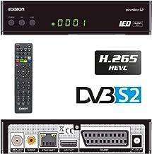Edision Piccollino S2 - Receptor de satélite Full HD, H.265