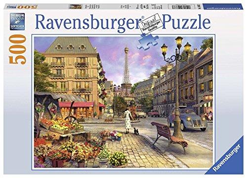 Ravensburger 146833 Puzzel Wandeling Door Parijs - Legpuzzel - 500 Stukjes