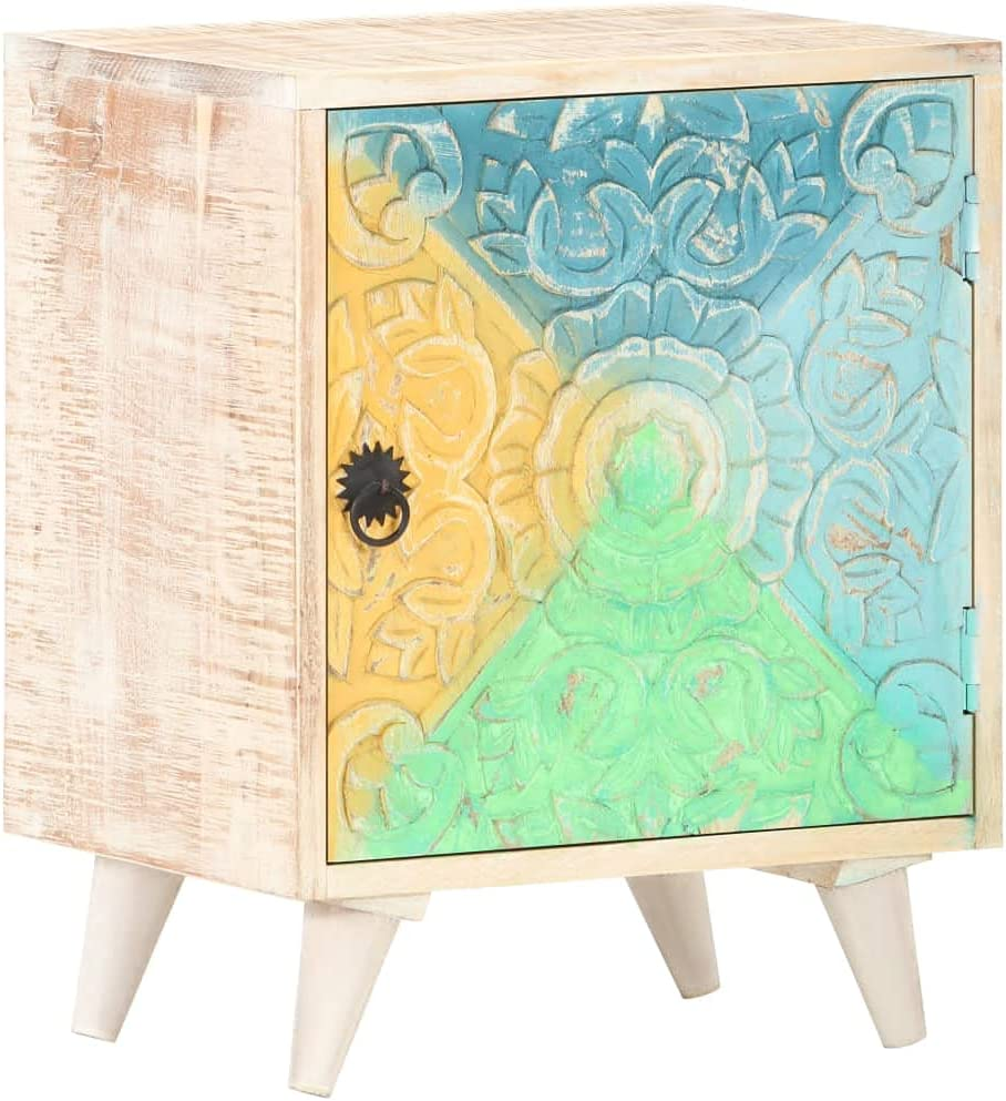 Carved Bargain sale Bedside New Shipping Free Cabinet,Nightstand Wood Cabinet Storage