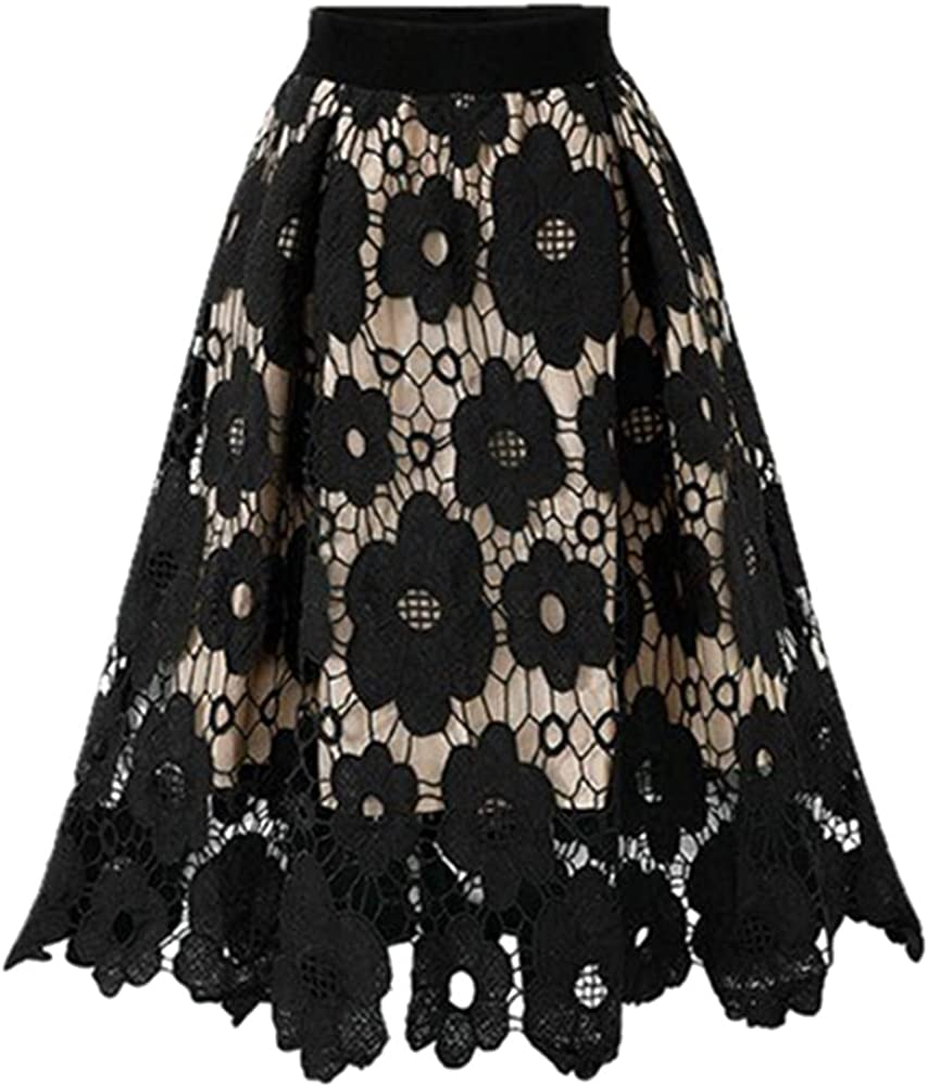 NP Prom Embroidery Plus Size Women's Skirt lace Skirt