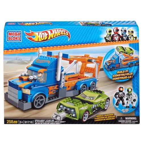 Mega Bloks Hot Wheels 91718 Camión y Coche Espía