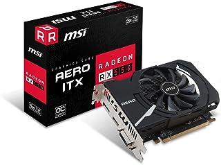 MSI Radeon RX 550 AERO ITX 4G OC グラフィックスボード VD7209