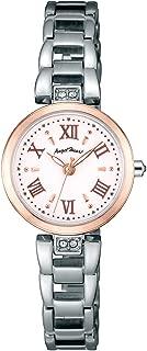 [エンジェルハート] 腕時計 Sparkle Time ホワイト文字盤 スワロフスキー ST24RSP レディース シルバー