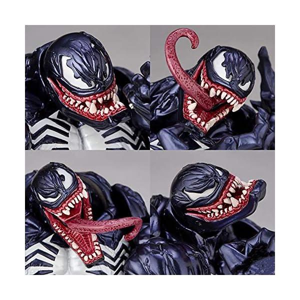 Venom Eddie Brock Venom Figura de acción Modelo de Juguete para niños Juegos Decoración Juguetes para niños para niños… 6