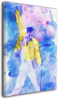 Solke Hasoybn Freddie Mercury Queen-Rock-Band Modern Canvas Wall Art Paintings Home Decor Wall Art Decor for Home Living Room Decor