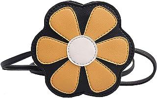 Fanspack Girl Shoulder Bag Creative Cute Flower Pattern Crossbody Bag Purse Should Bag