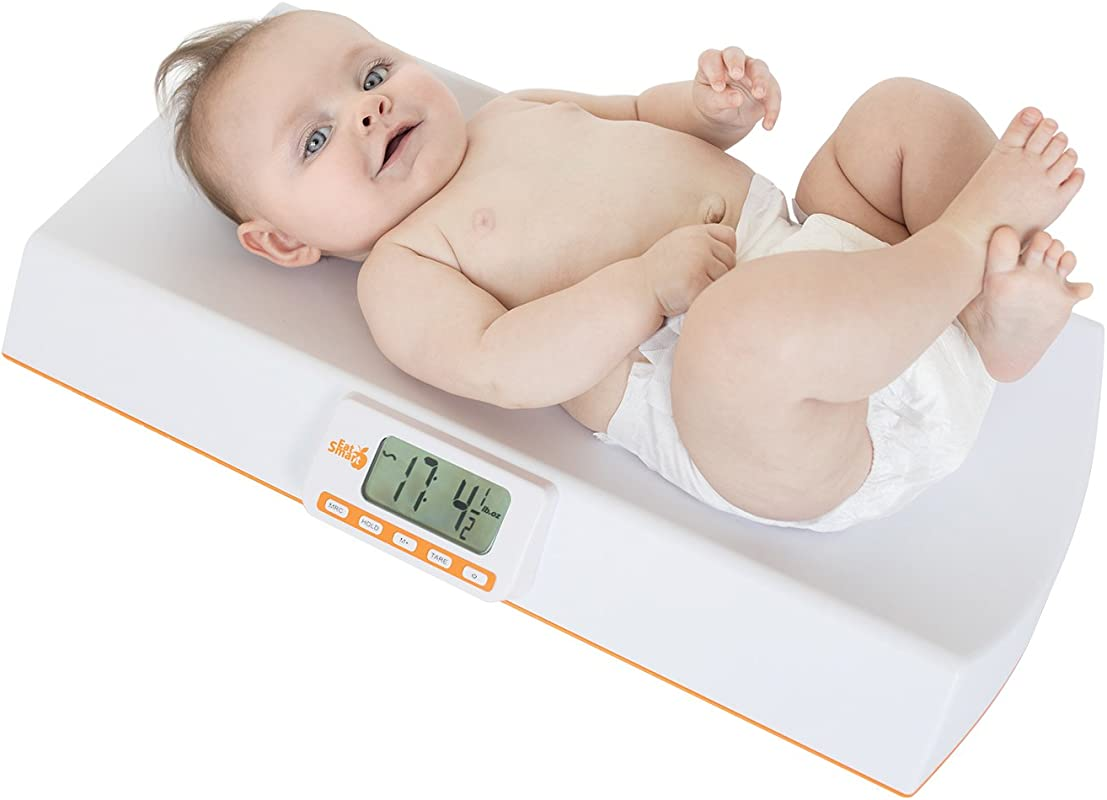 EatSmart Precision Digital Baby And Pet Check Weight Scale 44 Pound Capacity