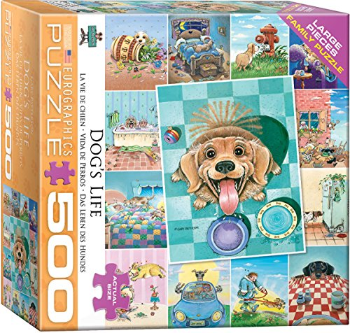 EuroGraphics (EURHR Dog's Life by Gary Patterson 500Piece Puzzle 500Piece Jigsaw Puzzle