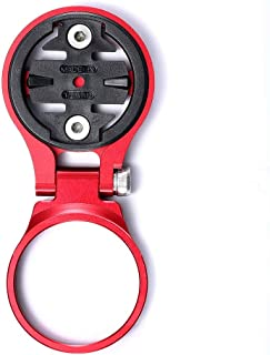 Icreopro Adaptador de Montaje Ajustable de vástago de Bicicleta para computadora de Ciclismo GPS Garmin Edge