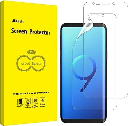 JETech Protection Ecran pour Samsung Galaxy S9 (Pas pour Galaxy S9+), Film Ultra HD TPU, Coque Compatible, Lot de 2