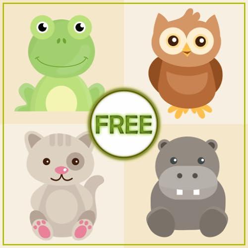 Tierspiel für Kinder - Puzzle, Sounds und Ausmalbilder - Learn and Play Animal Games
