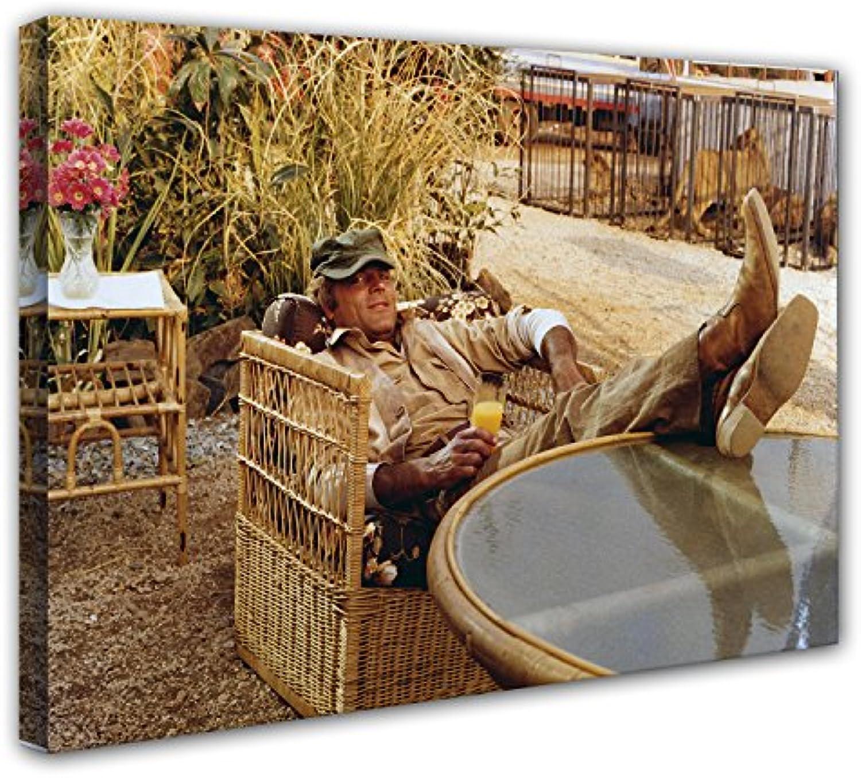 Terence Hill Bud Spencer Leinwand Das Krokodil und sein Nilpferd (120 x 80 cm)
