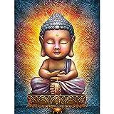 ZHLMMZD 3000 Piezas de Estatua de Buda de Rompecabezas para Adultos, Cada una es única, la tecnología Significa Que Cada Pieza se Puede Combinar Perfectamente
