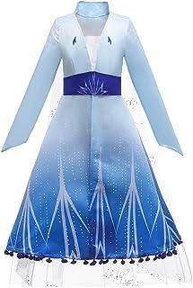 Dressy Daisy Girls New Ice Queen Snow Princess Costume Fancy Halloween Party Christmas Birthday Dress
