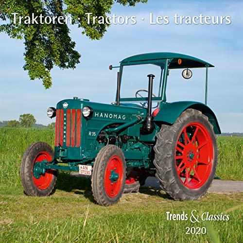 Traktoren Tractors 2020 - Broschürenkalender - Wandkalender - mit Schulferientabelle und Jahresübersicht 2020 - Format 30 x 30 cm