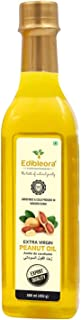 Edibleora Cold Pressed Groundnut / Peanut Oil - Unprocessed Peanut Oil for Cooking (100% Pure Guranteed) (500 ml)