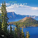 Oregon Wild & Scenic 2022 12 x 12 Inch Monthly Square Wall Calendar, USA United States of America Pacific West State Nature