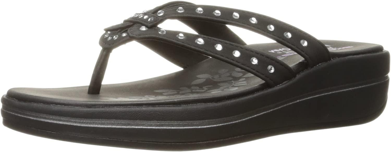 Skechers Skechers Skechers Woherren Upgrades Be-Jeweled Flip Flop, schwarz Jewel, 9 M US 6ea