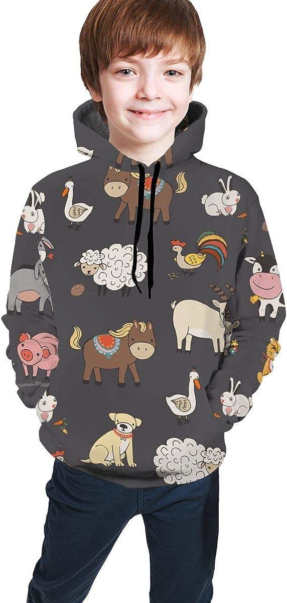 Fantasy Glowing Mushrooms Kids Hoodies Fashion Hooded Pullover Sweatshirts Tops 7-20t