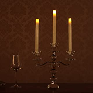 LED Flameless Taper Candle, 9
