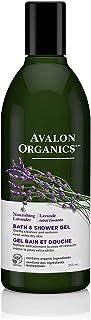 Avalon Organics Gel de Baño y de Ducha con Extracto de Lavanda, 12 oz (355 ml)