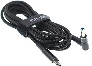 fine-R 4.5×3.0mm 日本検品済 他サイズあり 100W/5A 対応 E-marker 搭載 HP ヒューレットパッカード ノートパソコン 充電器 PD 充電 USB-C 変換アダプター AC充電ケーブル アクセサリー