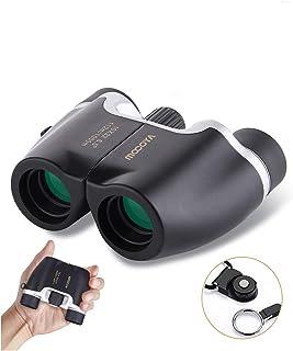 MOCOYA 双眼鏡 コンサート 10倍 10x22 Bak4 オペラグラス コンサート用 人気 軽量 小型