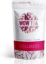WOW TEA Wellness – A Delicious Health-Boosting Tea with Pure Ayurvedic Herbs – Enhances Health Boosts Immunity Balances The Body Harmonizes The Mind Sharpens Focus 150g Estimated Price : £ 19,90