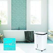 Honeywell, White TP50WKN Energy Star Dehumidifier for Medium Basement & Living Room up to 3000 sq. ft with Anti-Spill Design & Filter Change Alert