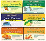Best Teas - Bigelow Herbal Tea 6 Flavor Variety Pack, Caffeine Review