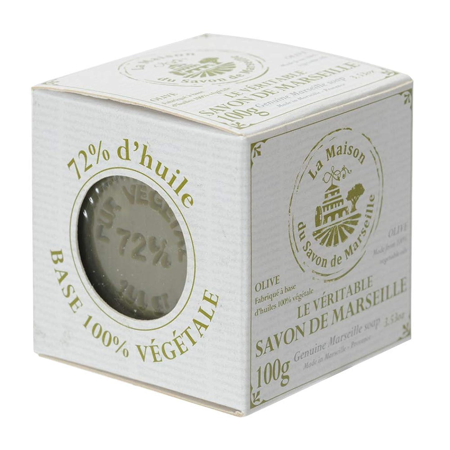 適用済みファンブルリネンノルコーポレーション マルセイユ石鹸 オリーブ UPSM認証マーク付き 100g MLL-4-1