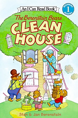 The Berenstain Bears Clean House (I Can Read Level 1)の詳細を見る