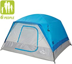 Toogh 10' x 9' 6 Person Camping Big Horn Tent Waterproof...