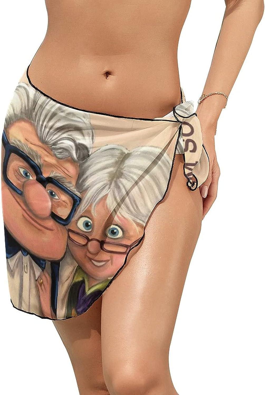 Women Beach Wrap Skirts to My Love Wife Movie Personalized Bikini Swimwear Beach Cover Up