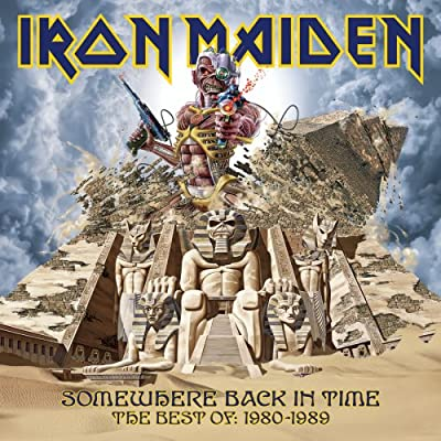 Iron Maiden - Somewhere Back In Time - The Best Of 1980-1989