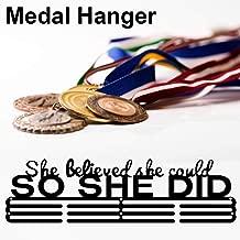 Atletas Medallero Colgador De Medallas Acero Inoxidable Marathon Medalla Y Babero,eportes Medalla Pantalla Colgador,Regalo Ideal para Corredores Gimnastas