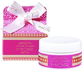 MOR Boutique Little Luxuries Lychee Flower Body Butter, 50 g
