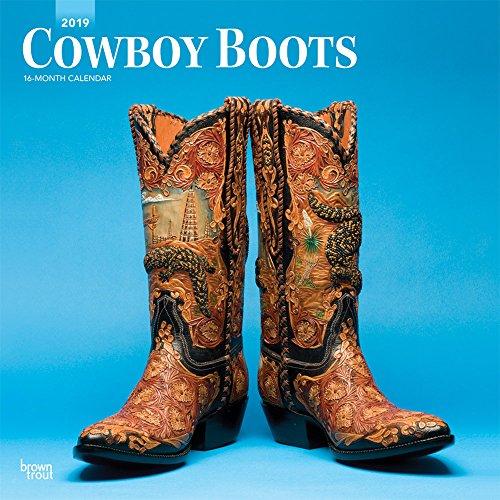 Cowboy Boots - Cowboystiefel 2019 - 18-Monatskalender (Wall-Kalender)