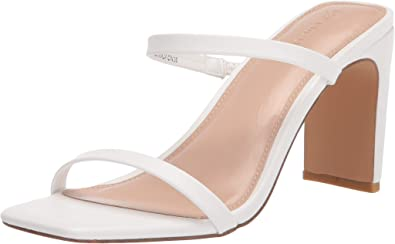 The Drop - Avery - Sandali Con Tacco Alto A Due Cinturini, Heeled Sandal Donna