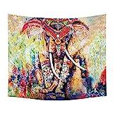 LLQ elefante colgante de pared cama bohemio playa...