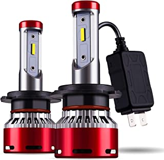 DODOFUN H7 Car LED Headlight Bulb Conversion Kit - High Beam Low Beam and Fog Light Replacement 6000K Xenon White Ultra High Performance Bright Non-polarity